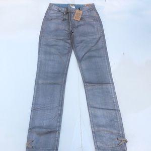 IKKS Girl Jeans Silver Aluminum